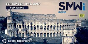 Social Reporters partner della Social Media Week Rome, dall'11 al 15 Settembre.