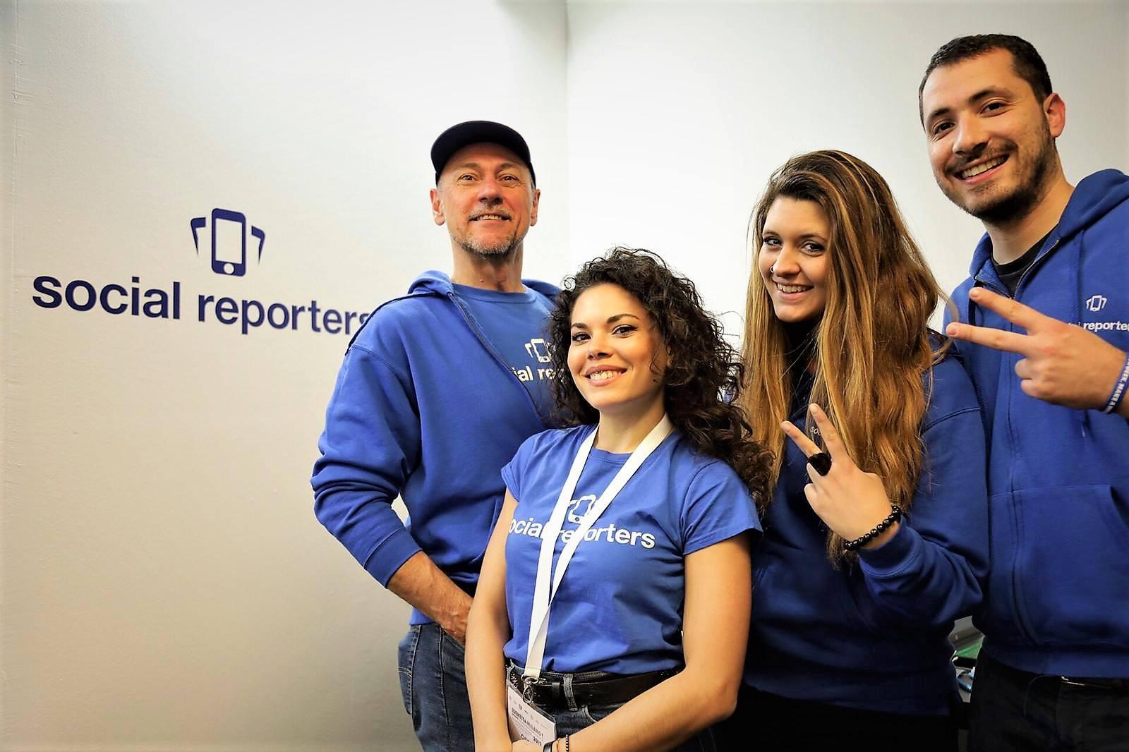 Exploit nel 2019 per Social Reporters: la community raddoppia il numero degli eventi e continua a crescere su tutto il territorio!