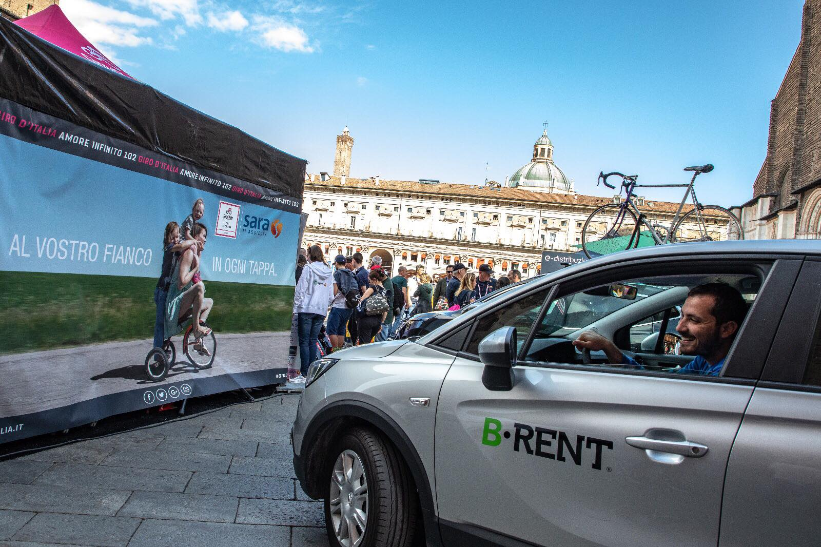 B-Rent al Giro d'Italia 2019
