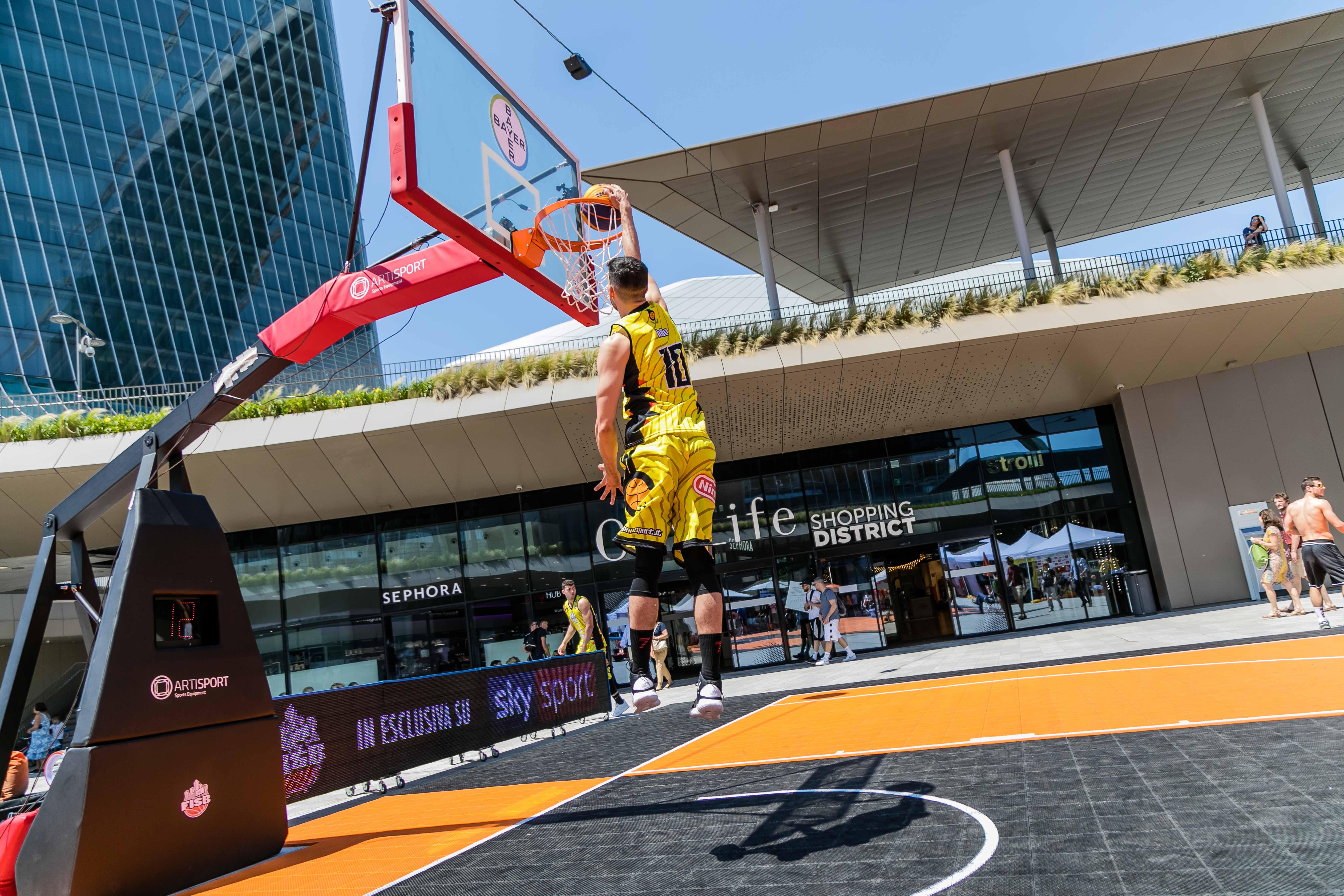 Basket: Al FISB Italian Tour con Bayer Italia